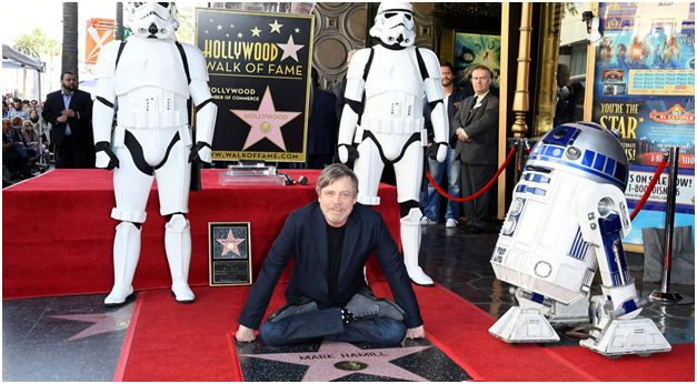 Mark Hamill - Hollywood Walk of Fame - Top End Terrazzo